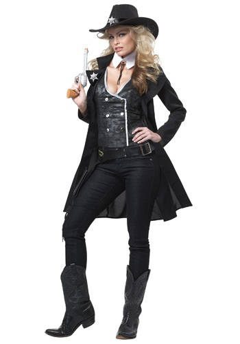 Women's Round Em Up Cowgirl Costume