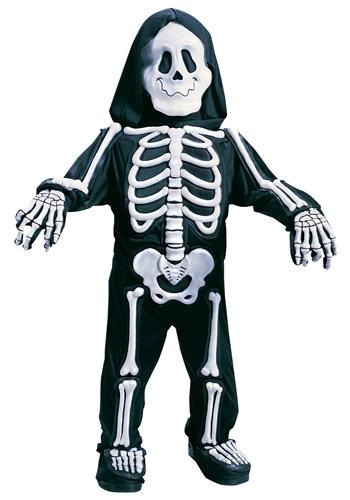 Child's White Skeleton Costume