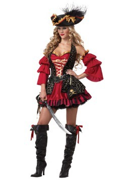 Women's Sexy Spanish Pirate Costume