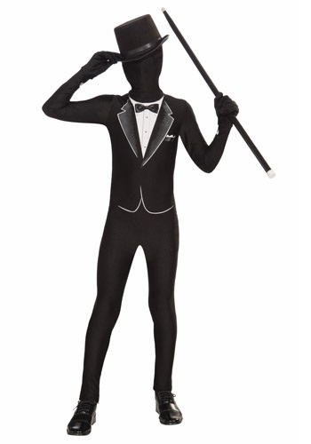 Kid's Formal Tuxedo Skin Suit
