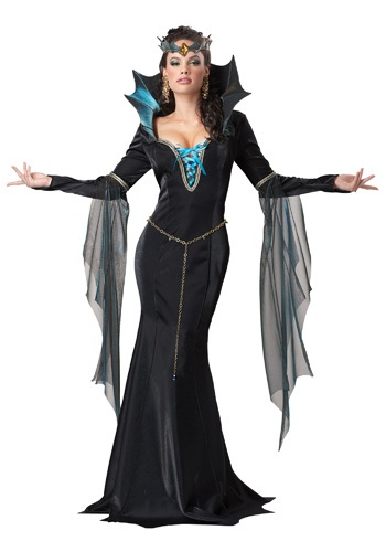 Evil Sorceress Costume For Women