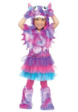 Toddler's Polka Dot Monster Costume