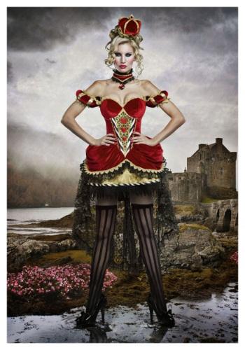 Deluxe Queen of Hearts Costume for Women