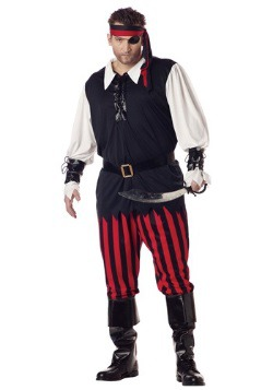 Cutthroat Pirate Plus Size Costume