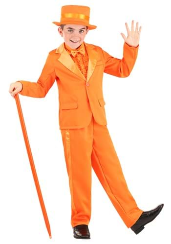 Kids Orange Tuxedo update