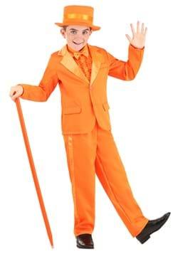 Kids Orange Tuxedo