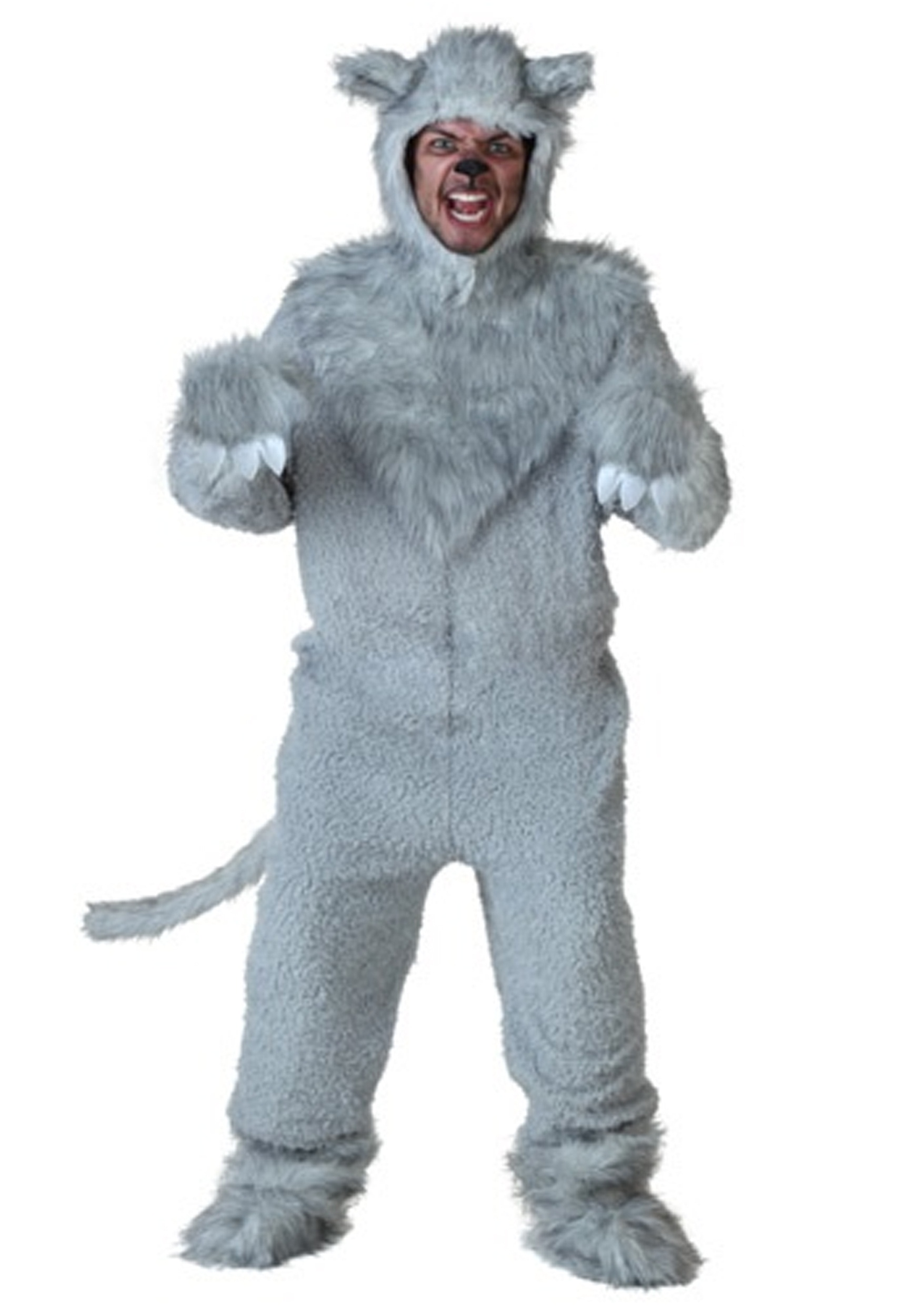 Little Gray Wolf Cub Toddler Infant Furry Puppy Halloween Costume