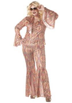 Women's Disco Plus Size Costume