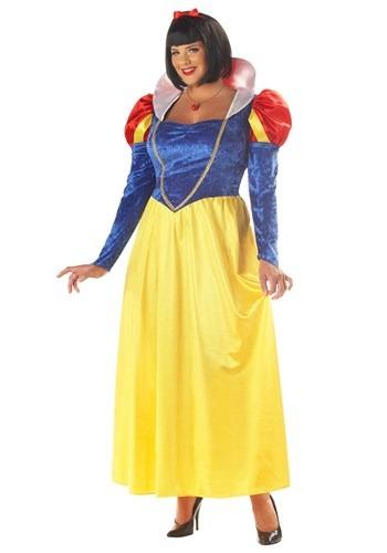 Plus Size Womens Snow White Costume Update 1