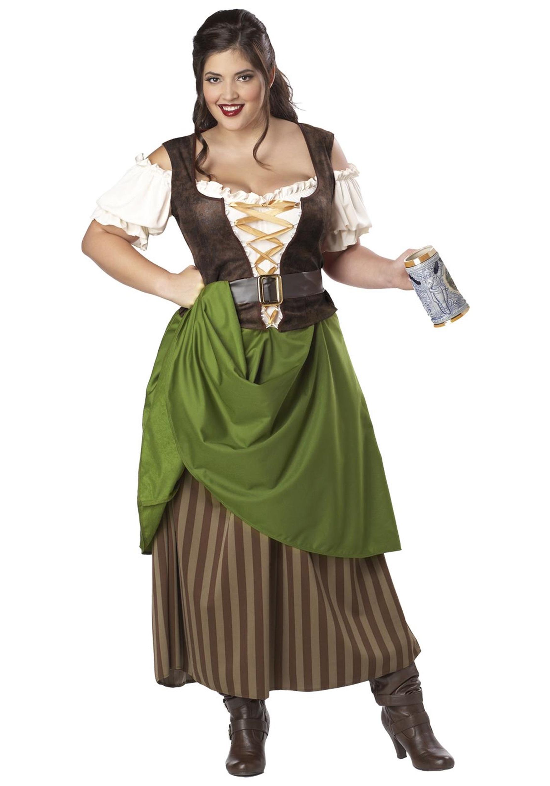 New Enchanting Maiden Women/'s Adult Halloween Costume