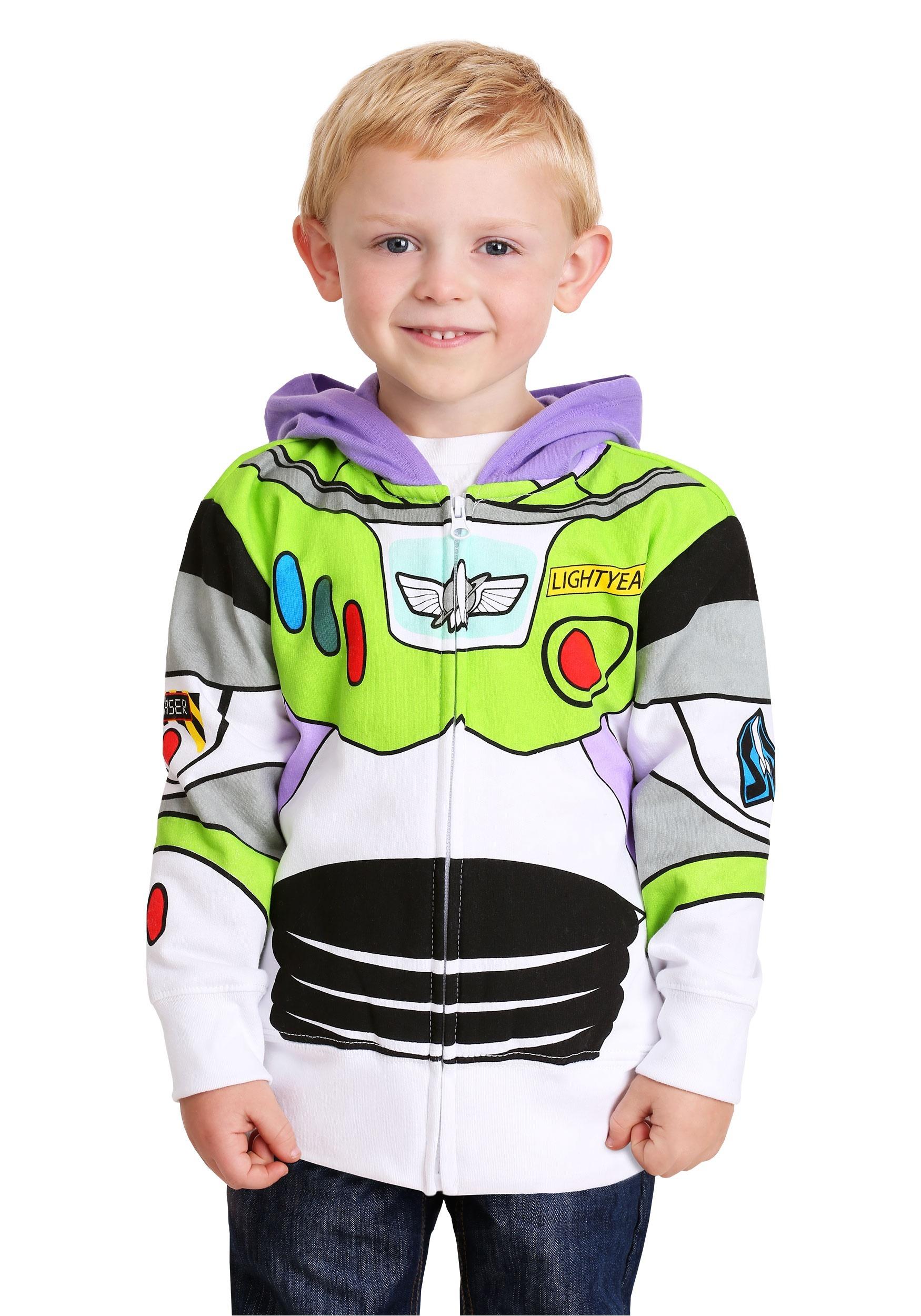 Toddler Buzz Lightyear Costume Hoodie-update1  sc 1 st  Fun.com & Toddler Buzz Lightyear Costume Hoodie