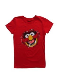 Girls The Muppets Red Monster T-Shirt