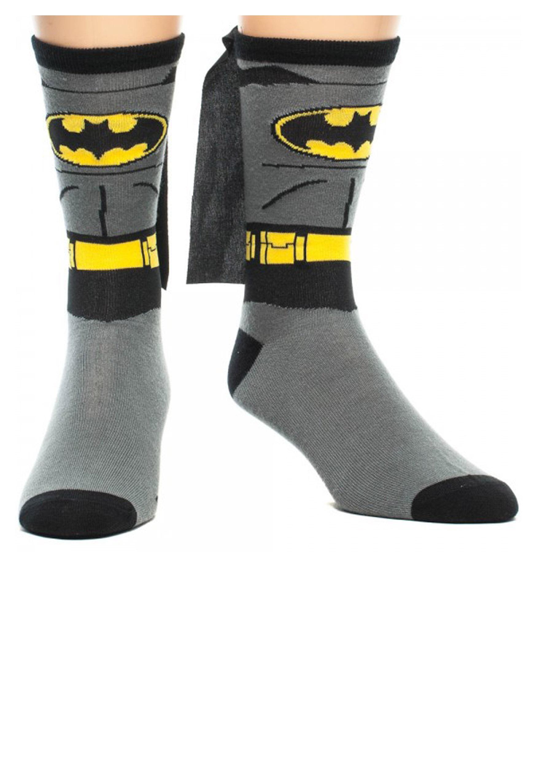 Batman Cape Crew Socks BWCR0JA4BTM00PP00
