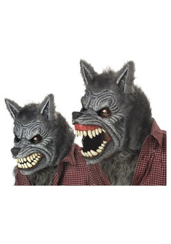 Werewolf Ani-Motion Grey Mask