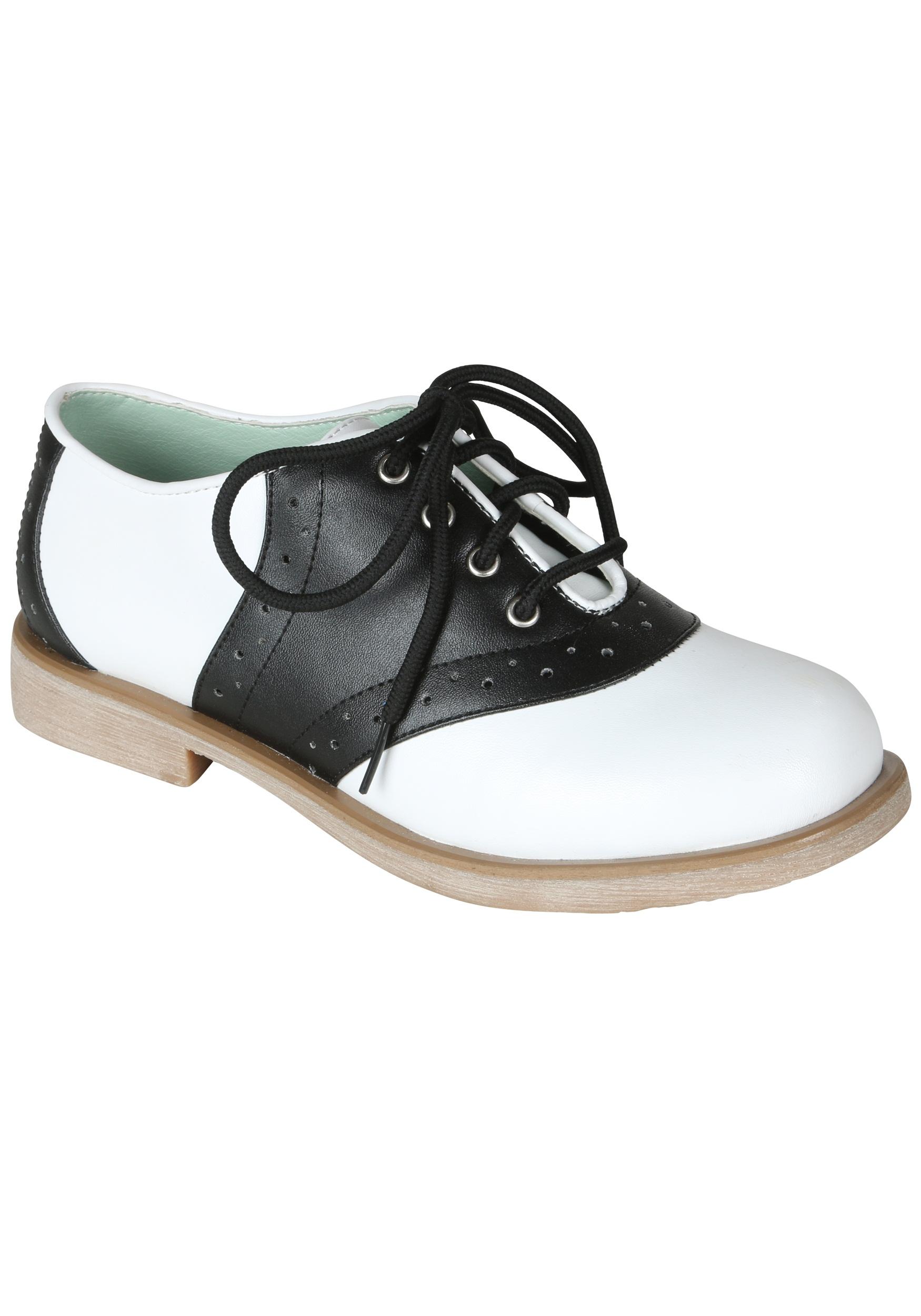 Womenu0027s Saddle Shoes  sc 1 st  Fun.com & Costume Saddle Shoes for Women