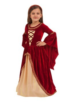 Girl's Alessandra the Crimson Princess Costume