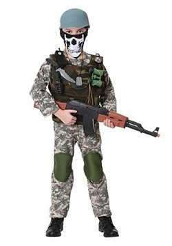 Camo Trooper Costume