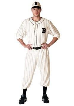 Mens Vintage Baseball Costume Updated 2