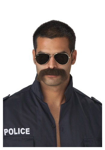 Police Officer Mustache