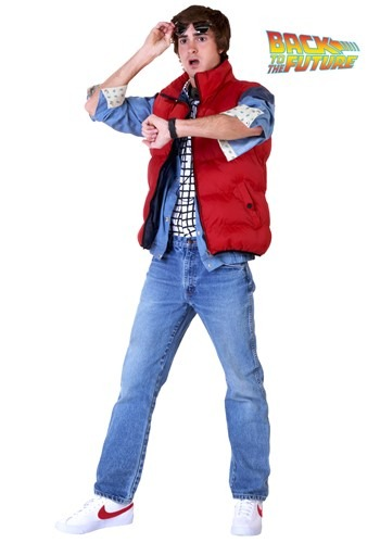 Marty McFly Back to the Future Costume