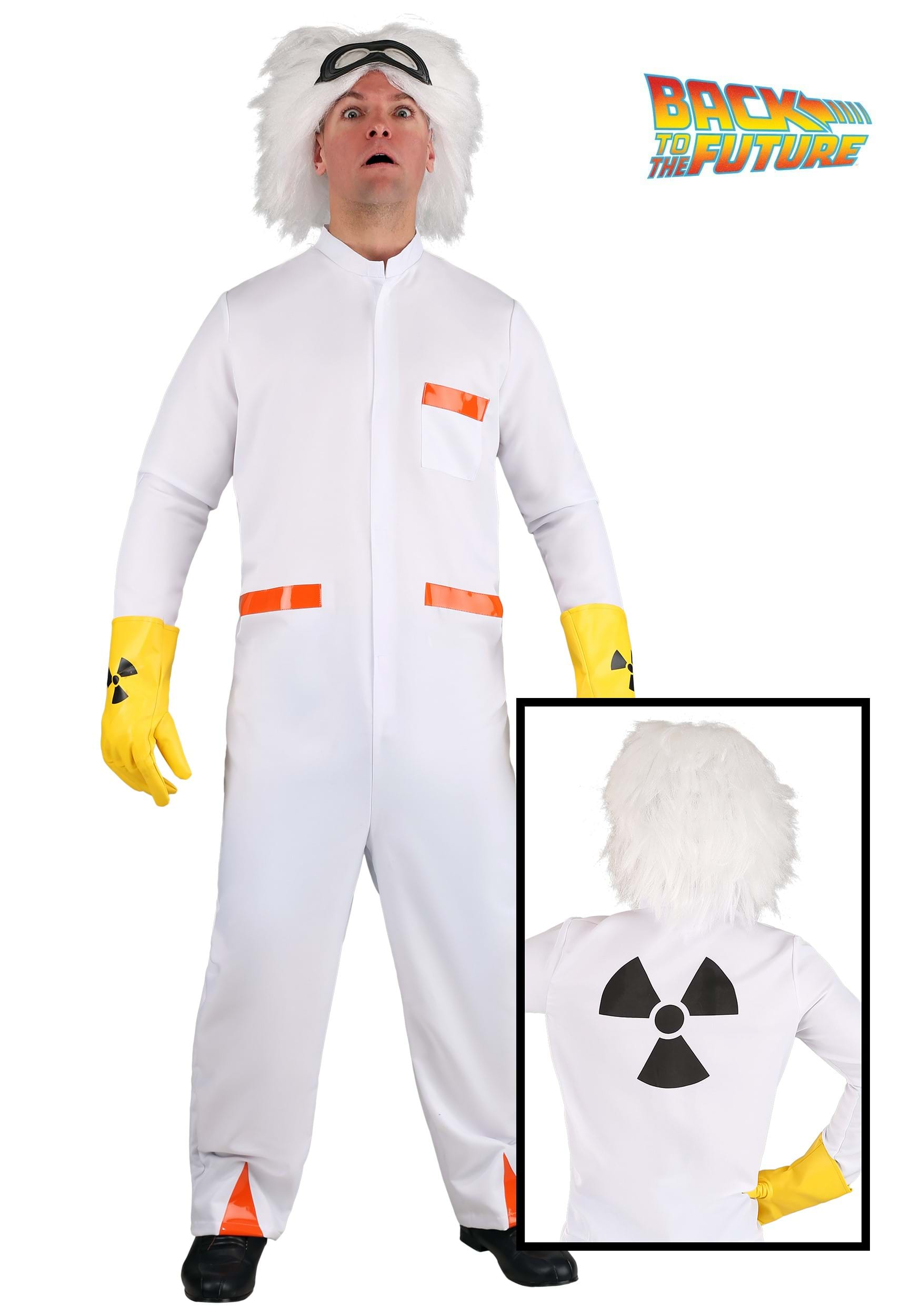 Back to the Future Doc Brown Costume BTF2243AD