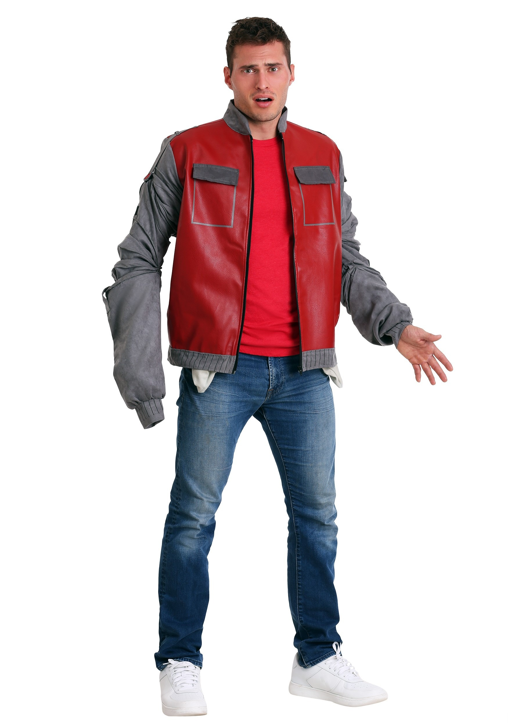 back to the future marty mcfly jacket costume. Black Bedroom Furniture Sets. Home Design Ideas