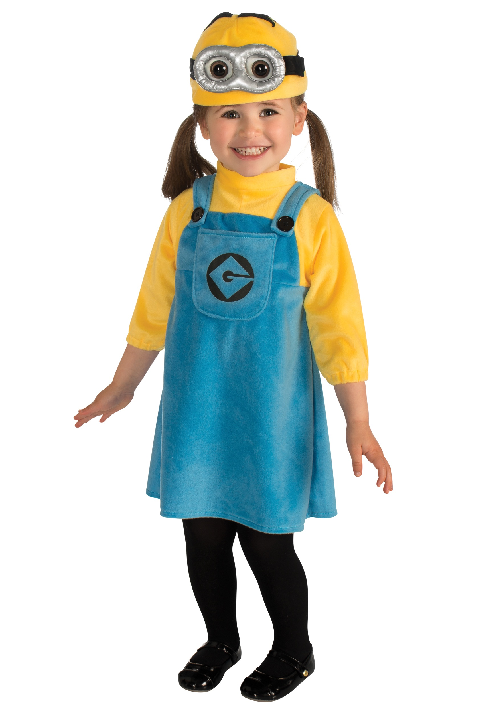 Minion Costume for Toddlers  sc 1 st  Fun.com & Toddler Girlu0027s Minion Costume