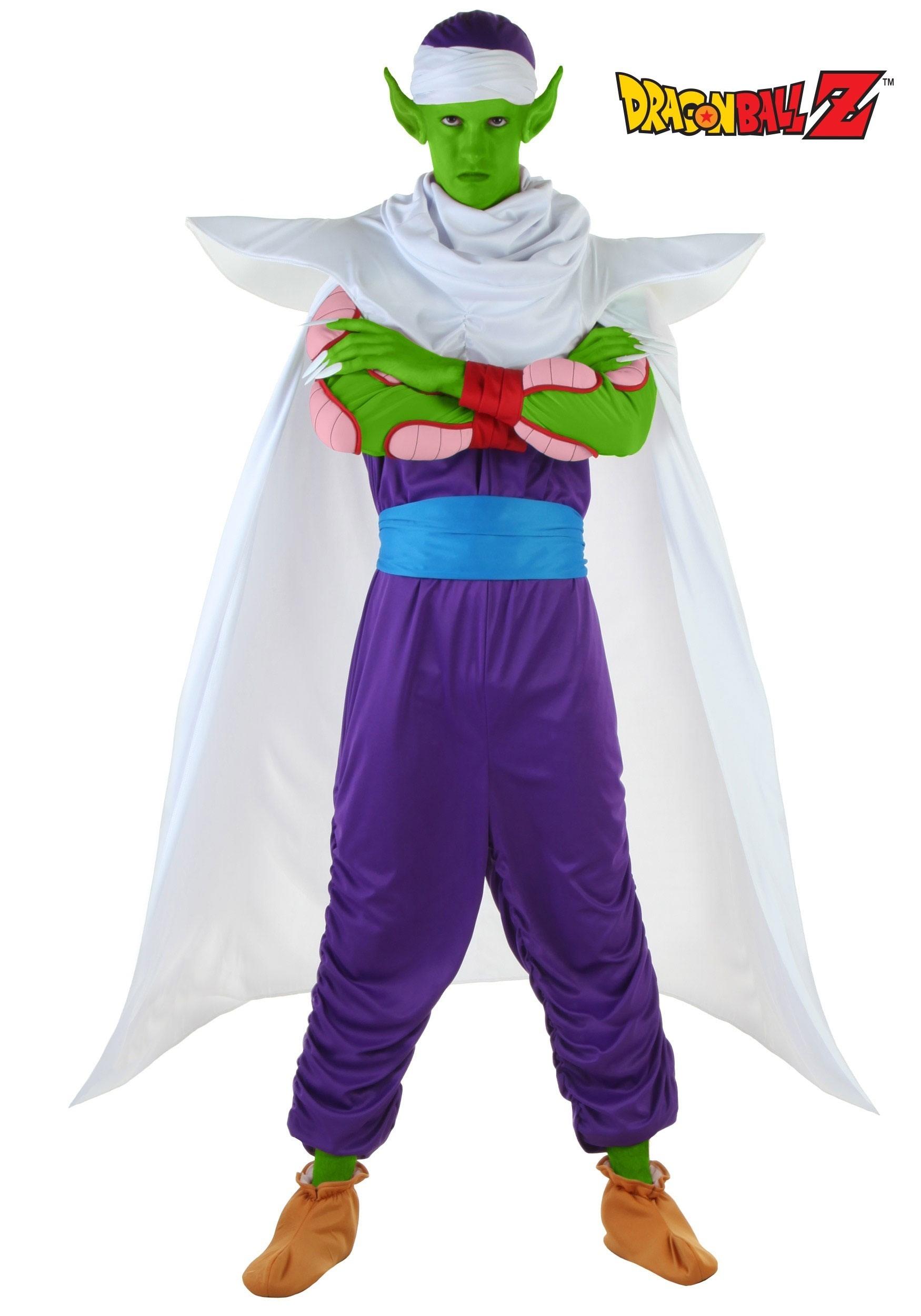 sc 1 st  Fun.com & DBZ Adult Piccolo Costume