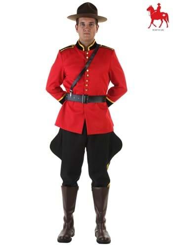 Canadian Mountie Mens Costume Logo Update