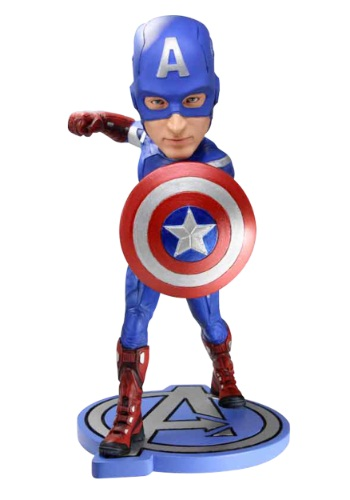 Captain America Head Knocker
