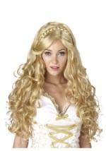 Women's Blonde Goldilocks Goddess Wig