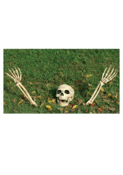 Buried Alive Skeleton Kit - 3 piece Halloween Decoration