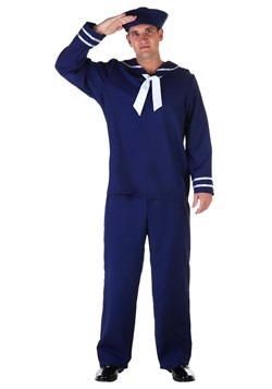 Mens Blue Sailor Costume cc1