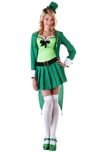 Lucky Leprechaun Women's Costume Update Main