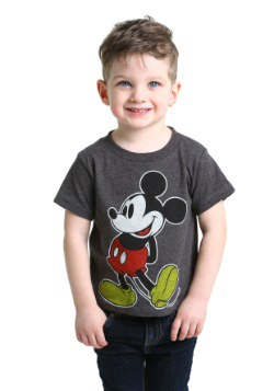 Toddlers Facing Left Classic Mickey Mouse Tee