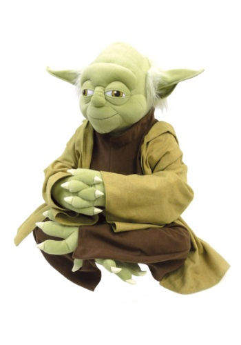 Life-size Yoda Plush