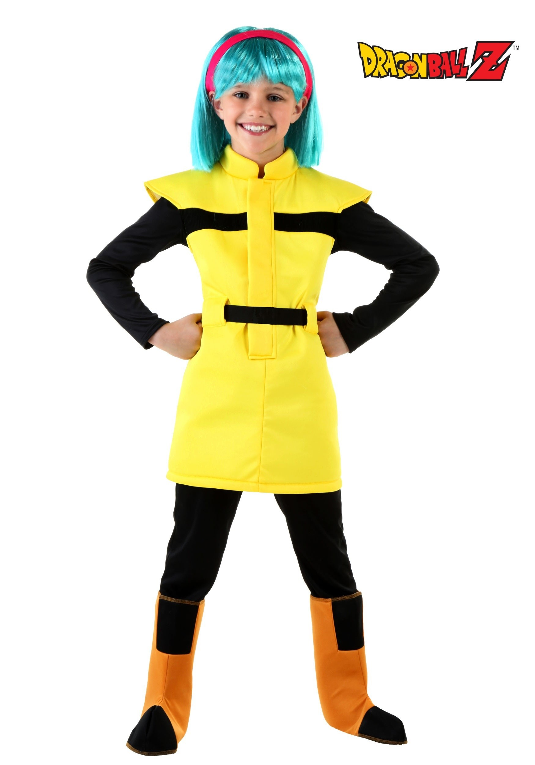 sc 1 st  Fun.com & DBZ Child Bulma Costume