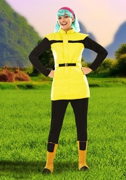 Dragon Ball Z Adult Bulma Costume Alt 1