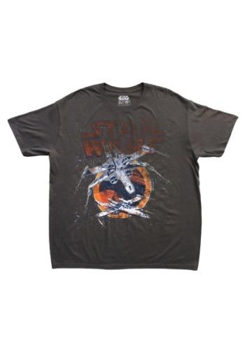 Men's My Squadron Star Wars Charcoal Shirt