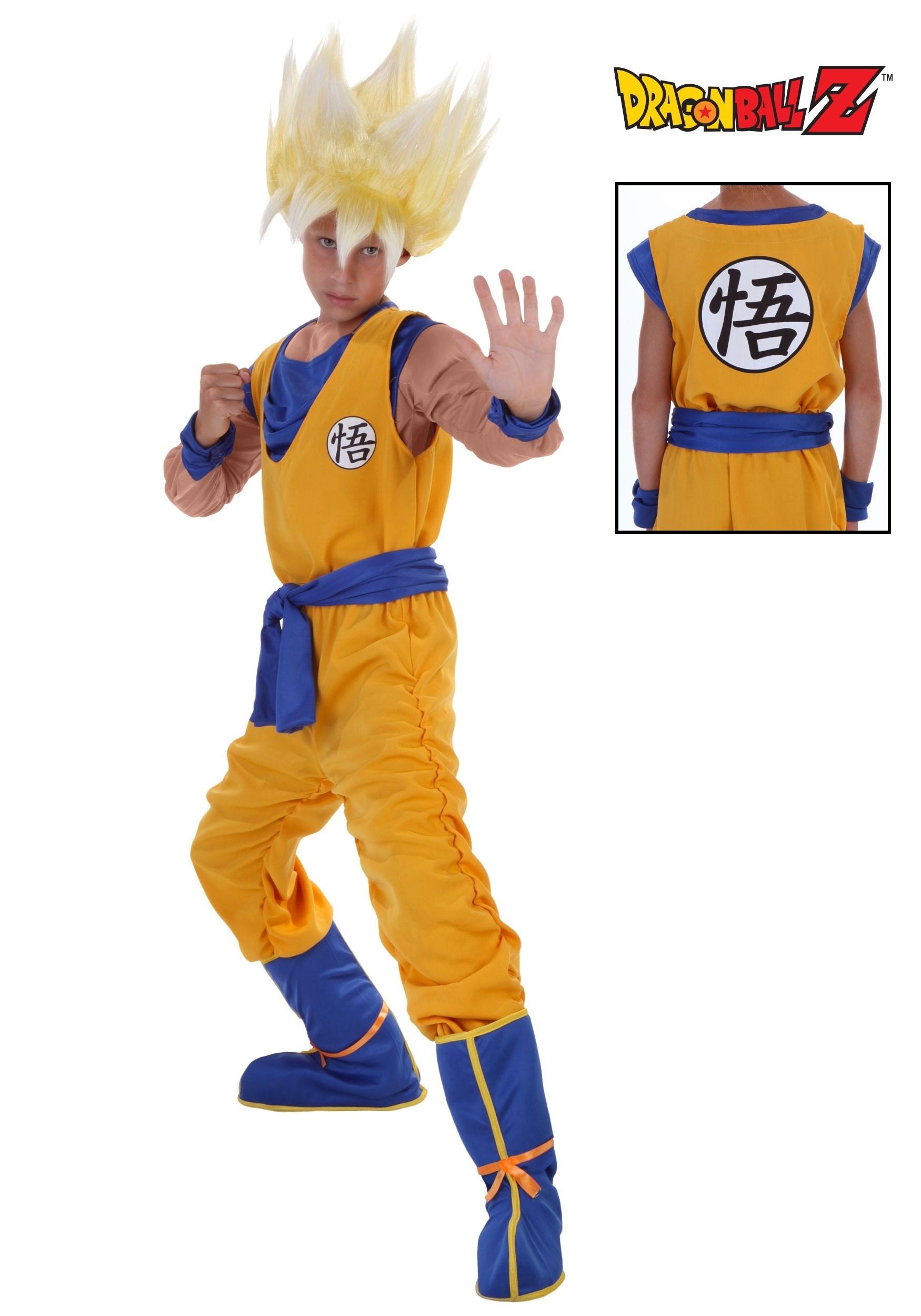 DBZ Child Super Saiyan Goku  sc 1 st  Fun.com & DBZ Child Super Saiyan Goku Costume