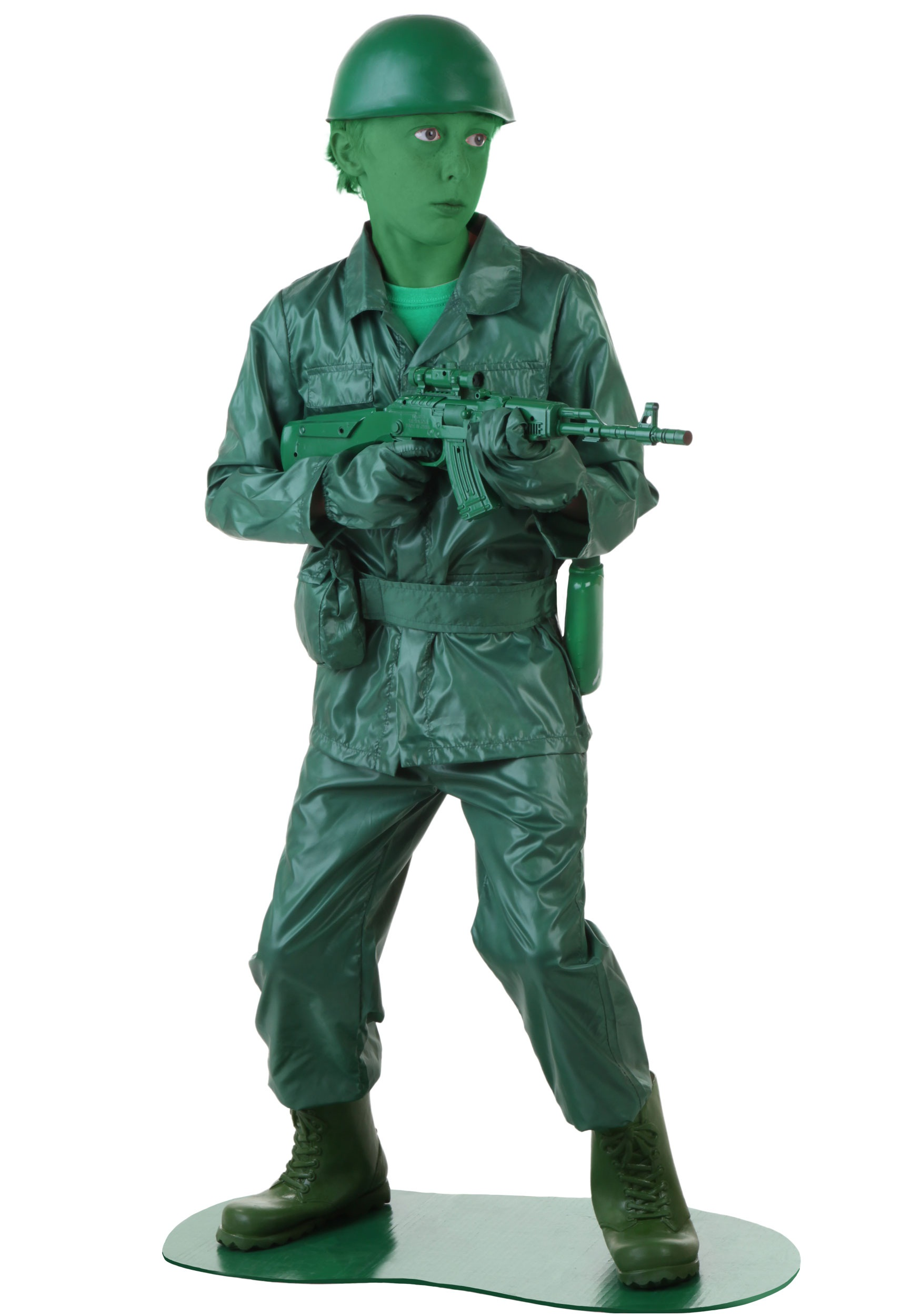 Toy Soldiers For Boys : Child green army man costume