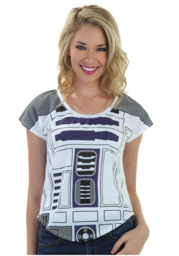Womens I Am R2D2 Fashion T-Shirt