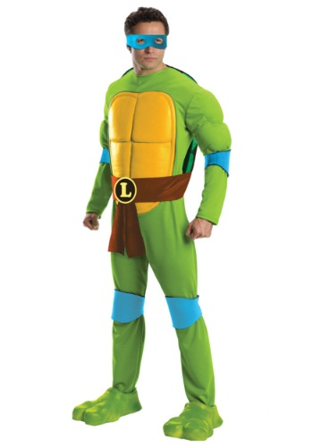 Deluxe TMNT Leonardo Costume for Men