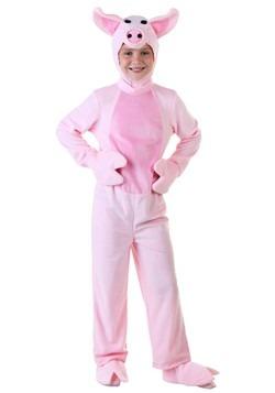 Kids Pink Pig Costume