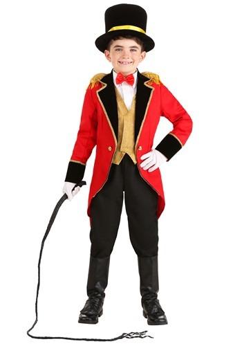 Ringmaster Boy's Costume