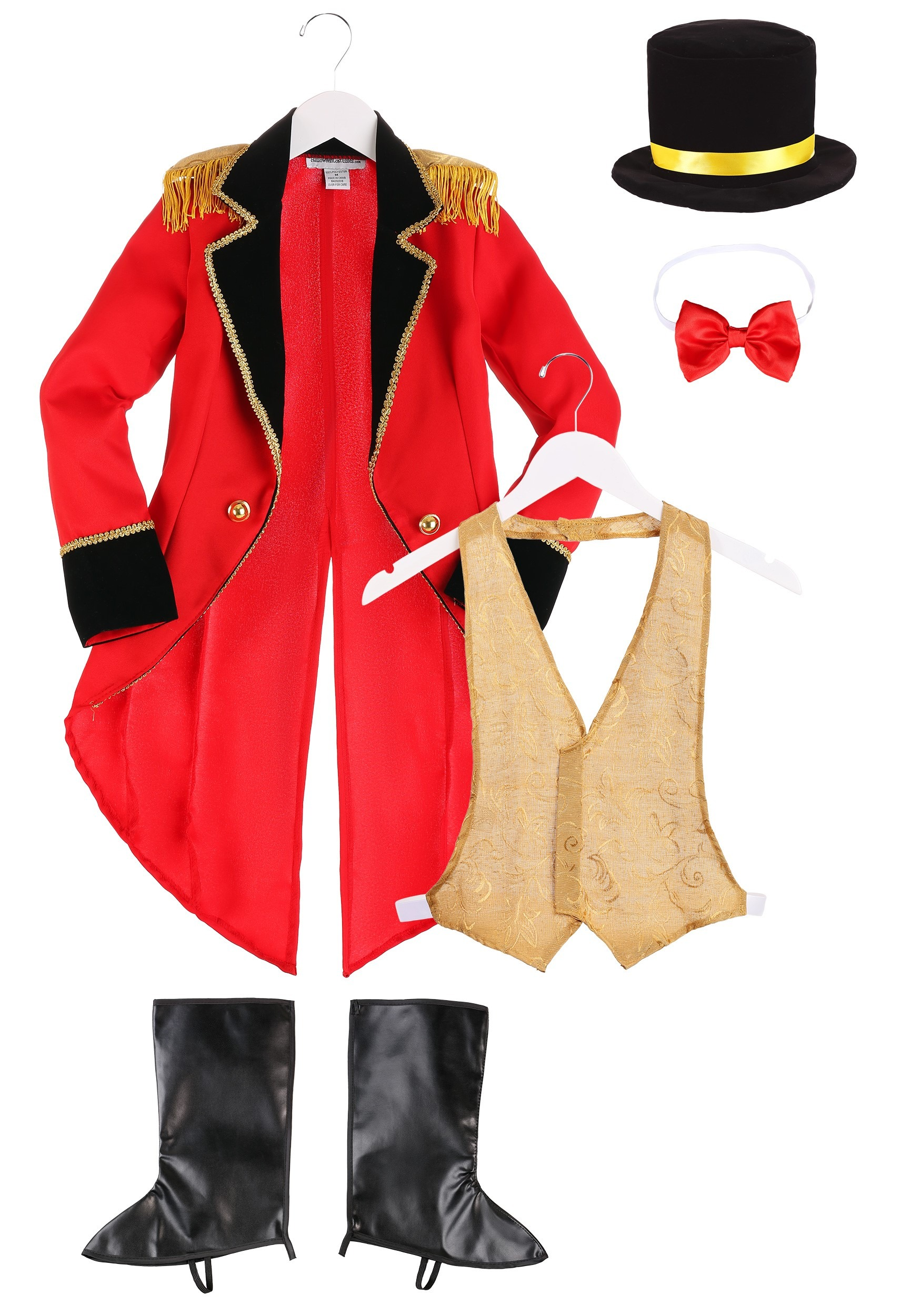 Ringmaster Costume For Boys Circus Costumes For Kids