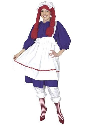 Raggedy Ann Doll Plus Size Costumecc