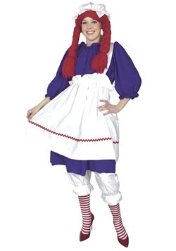 Raggedy Ann Doll Plus Size Costumecc