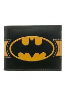 Batman Logo Reveal Mens Black Bi-Fold Wallet