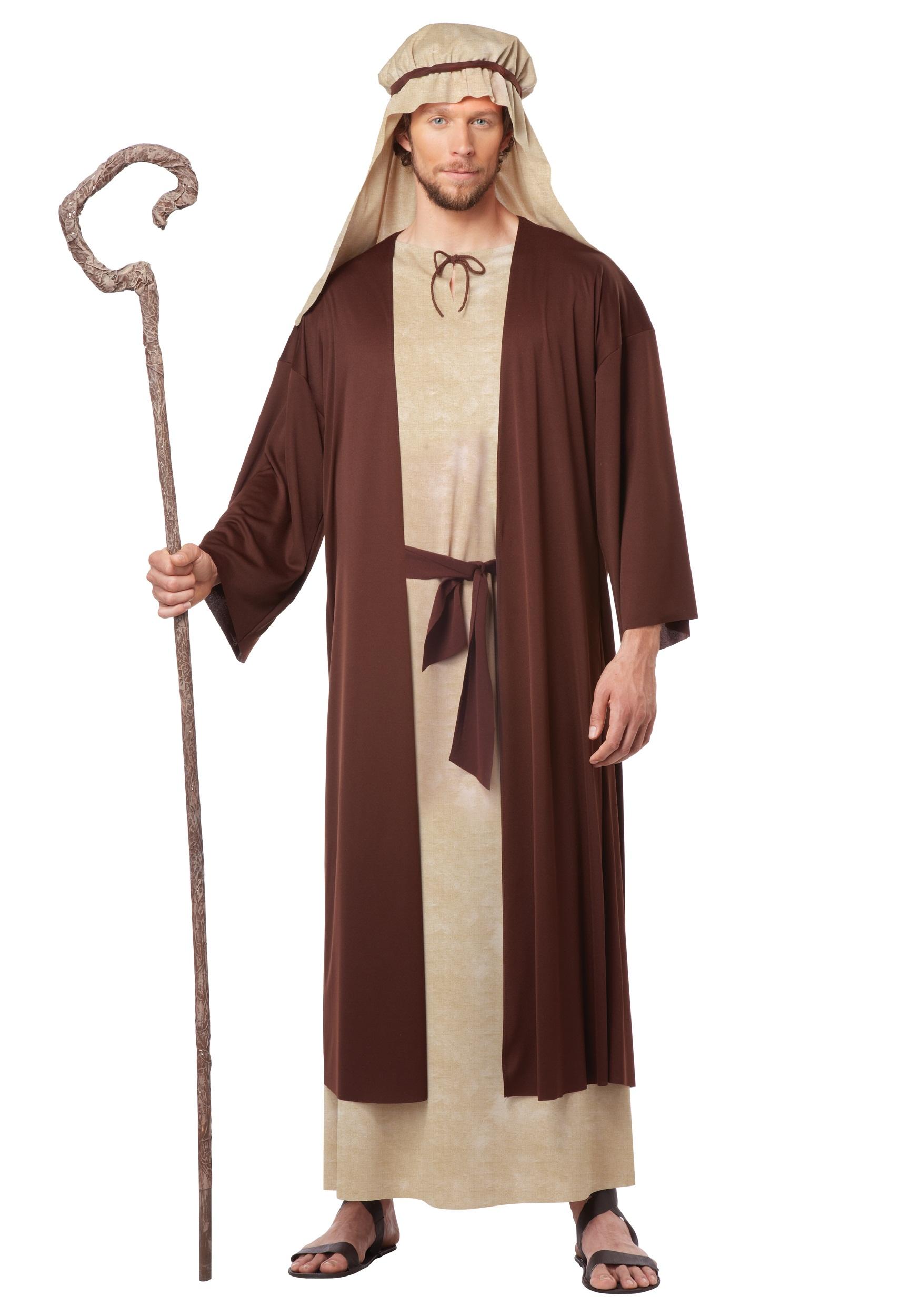 Jesus Moses Robe Biblical Men/'s Fancy Dress Costume Christmas